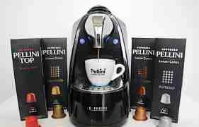 Капсульная кофемашина формата Nespresso Pellini