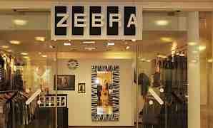 Объемная вывеска из пенополистирола zebra