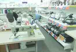 Промышленное и бытовое швейное оборудование