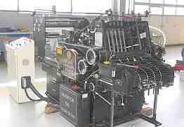 Пресс для горячего тиснения фольгой на базе heidel