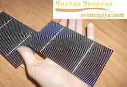 Поликристалл. сборные солнечные батареи - 76 Вт