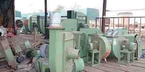Вентиляторы пылевые, систем пылеудаления, улитка