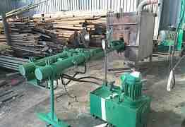 Линия по производству отводов до 108 диаметра