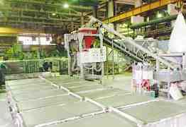 Линия по производству газоблока